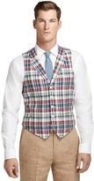 Brooks Brothers Madras Linen Vest