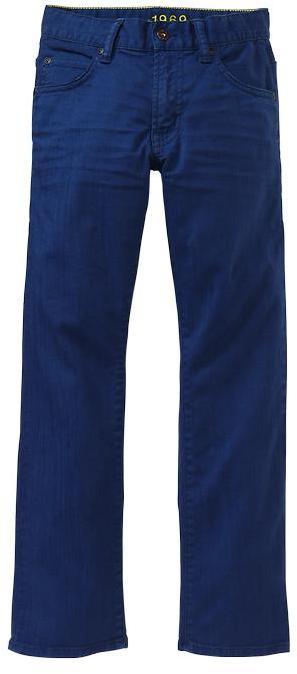 Gap 1969 Admiral Blue Straight Jeans
