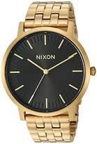 Nixon Men's Porter Japanese-Quartz Watch with Stainless-Steel Strap