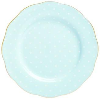 Royal Albert Polka Blue Vintage Plate (20Cm)
