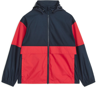 Arket Colour-Blocked Windbreaker Jacket