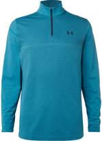 Under Armour Threadborne Stretch-jersey Golf Top - Blue