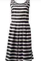 Bandolera Striped Skater Dress