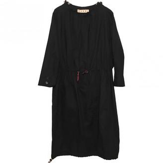 Marni Navy Cotton Dresses