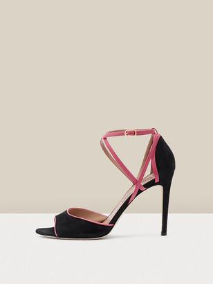 Diane von Furstenberg Anais Suede Sandals