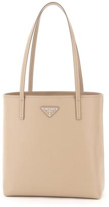 Prada Saffiano Small Tote Bag