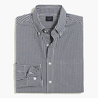 J.Crew Small gingham Untucked flex casual shirt