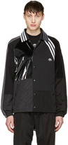 Adidas Originals By Alexander Wang Black Patch Jacket