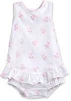 Kissy Kissy Baby Ballet Slippers Ruffle Bubble Playsuit, Pink, Size 3-18 Months