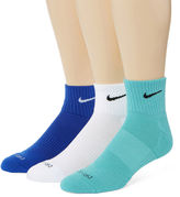 Nike 3-pk. Dri-FIT Quarter Socks