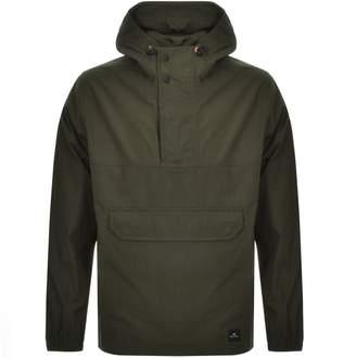 Paul Smith Half Zip Kagoule Jacket Green