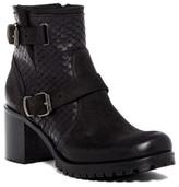 Cordani Bergen 2 Python Embossed Block Heel Boot