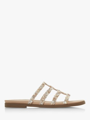 Head Over Heels Leiliani Embellished Flat Sandals