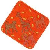 Breganwood Organics Hooded Towel, Jungle Orange