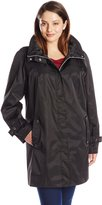 Calvin Klein Women's Plus-Size Packable Anorak Jacket