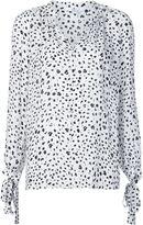 Derek Lam 10 Crosby printed silk blouse