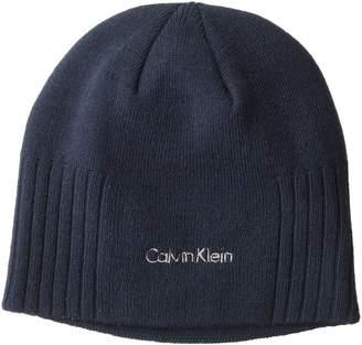 Calvin Klein Unisex New Rib Beanie Winter Hat