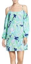 Lilly Pulitzer 'Candice' Print Silk Trapeze Dress