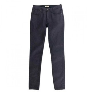 Burberry Purple Cotton Jeans
