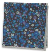 Ted Baker Floral Wool Pocket Square