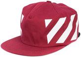 Off-White Red diagonals cap