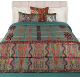 Etro Bukhara Quilted Bedspread - 270x270cm - Blue