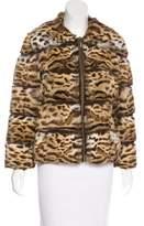 Giuliana Teso Collared Fur Jacket