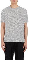 ATM Anthony Thomas Melillo Men's Striped Linen T-Shirt