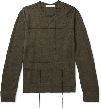 Craig Green Laced Cashmere Sweater