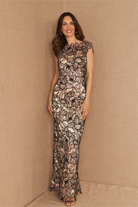 JS Collections Lynwood Cap Sleeve Floral Dress