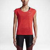 Nike Breathe Women's Short Sleeve Running Top
