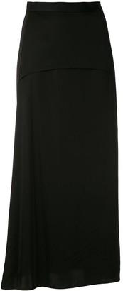 Reinaldo Lourenço layered waistband A-line skirt