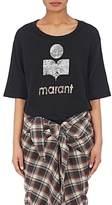Isabel Marant Women's Kuta Logo Linen T-Shirt