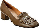 French Sole Coco Leather Pump