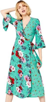 Find. Amazon Brand Women's Floral Wrap Dress