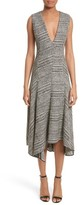 Jason Wu Women's Check Wool Fit & Flare Dress