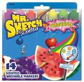 Household Essentials Mr. Sketch Markers, Chisel - Multi-Colored