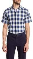 Ben Sherman Check Print Regular Fit Shirt