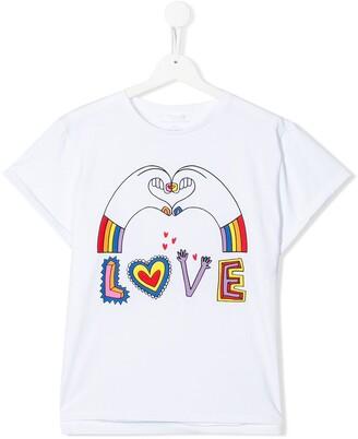 Stella McCartney TEEN graphic print T-shirt