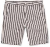 Massimo Alba - Vela Striped Linen Shorts
