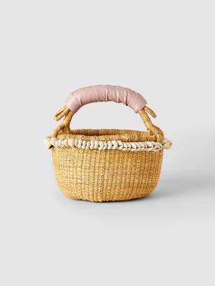 Indego Africa Mini Cowrie Bolga Basket