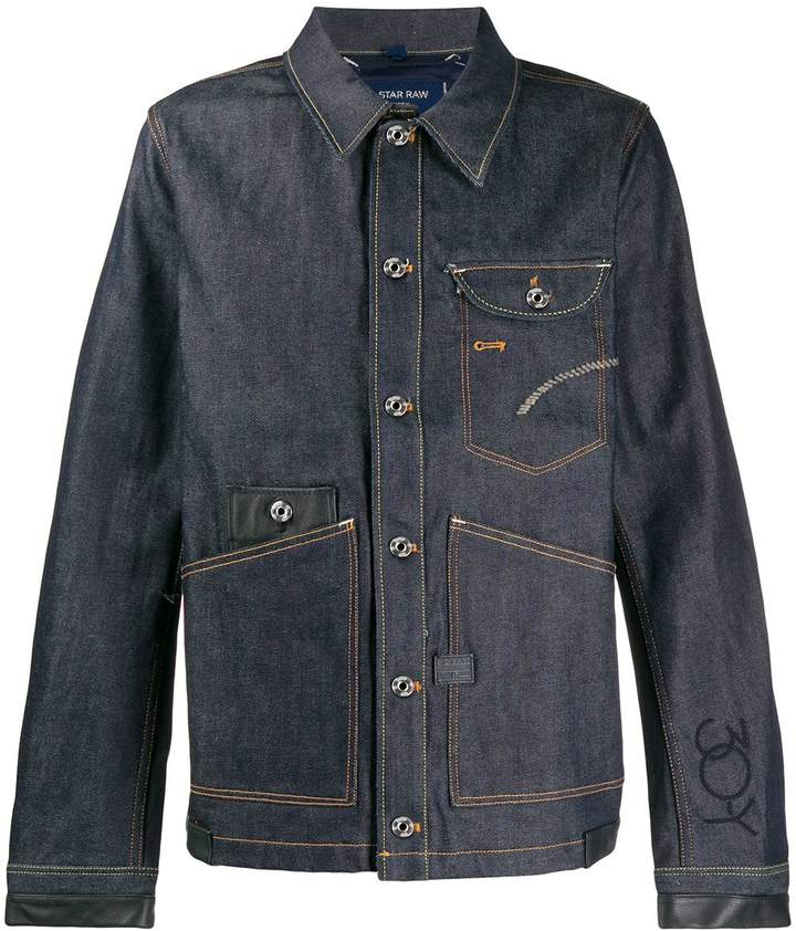 G Star Research denim shirt jacket