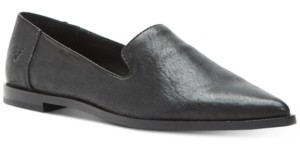 Frye Women's Kenzie Venetian Smoking Flats Women's Shoes