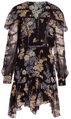 Etro Giara Floral Silk Dress