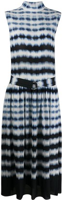 Boon The Shop tie-dye belted dress