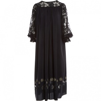 Ungaro Black Viscose Dresses