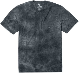 VISSLA Calipher Embroidery Tie Dye T-Shirt - Men's