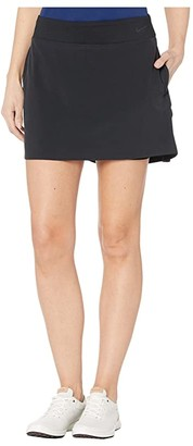 Nike 15 Flex Fairway Skirt Solid (Black/Black) Women's Skort