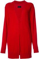 RtA cashmere distressed cardigan - women - Cashmere - S