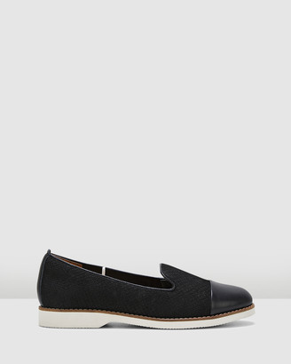 Hush Puppies Women's Black Loafers - Demi - Size One Size, 7 at The Iconic